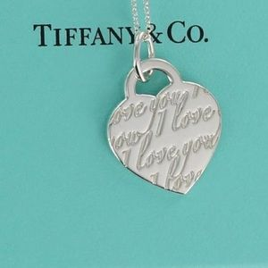 Tiffany & Co. I love you Pendant